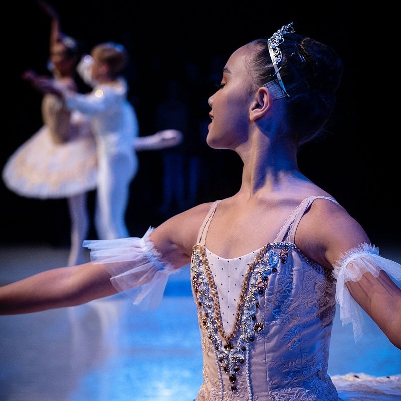A ballet performance at the Northshore Performing Art Center in Bothell, Washington.