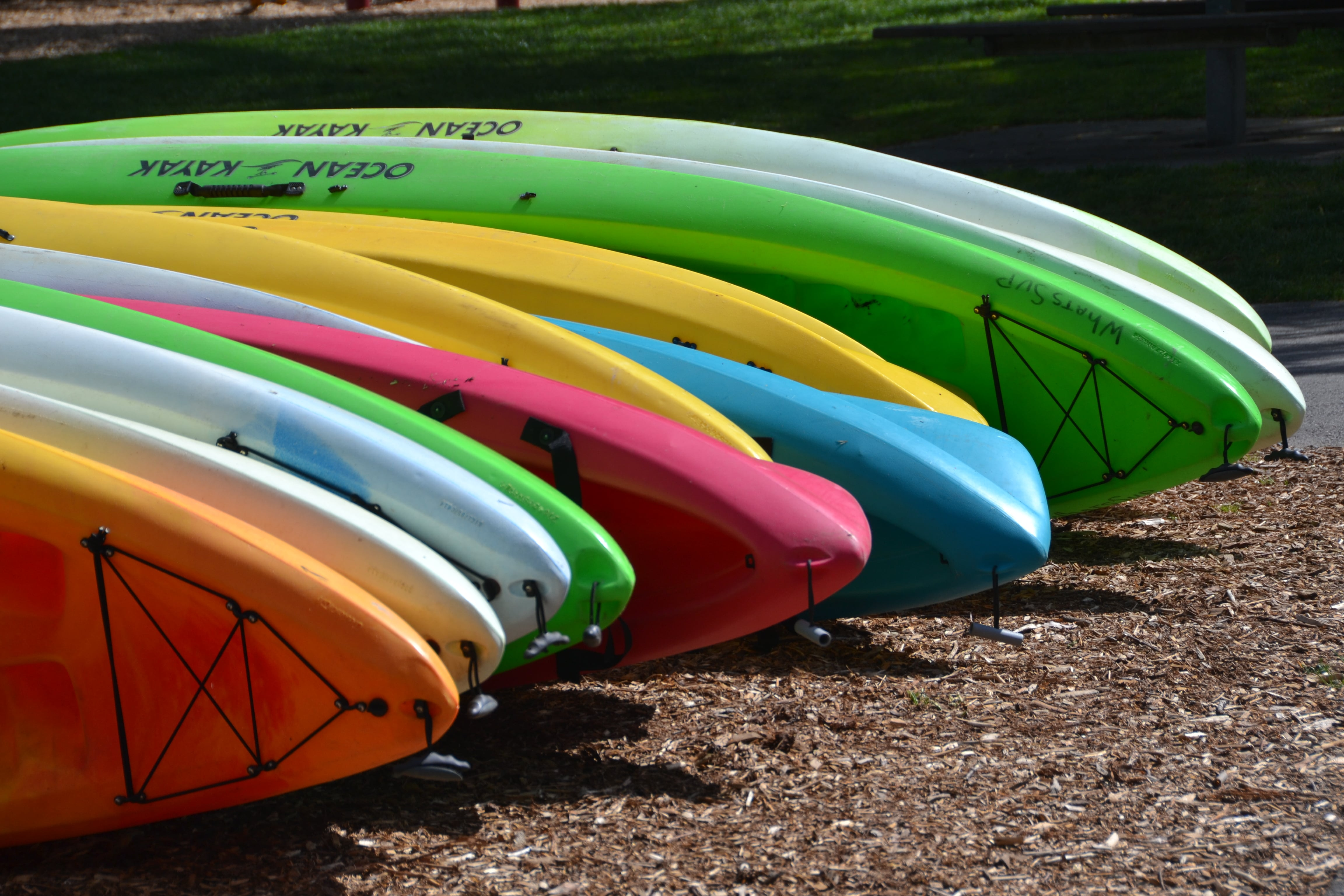 Kayaks in the Pacific Northwest - Seattle and Bothell