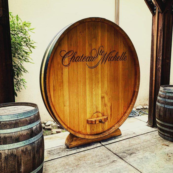 Chateau Ste. Michelle Wine Barrel top on instagram by @krmdrgl