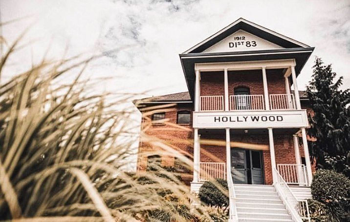 The Hollywood School House at the Maryhill Winery in Bothell, Washington